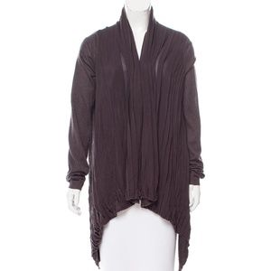 Rachel Roy Wool Open Front Cardigan